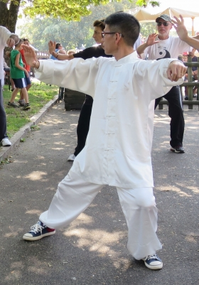Stage Taijiquan stile Chen 18 forme - Associazione Ninhao